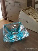 Régi Muránói két rétegű díszüveg, új