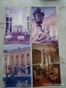 D146773 FERTŐD Esterházy kastély 4 db. képeslap MTI foto