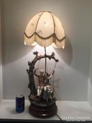 Capodimonte Armani asztali lampa!