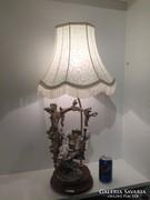Capodimonte Armani porcelan asztali lampa!