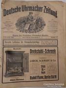 1908-as német Órás Szaklap