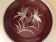 Óriási Rosenthal asztalközép, kínáló, porcelán fali tál (42)