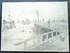 Basch Gyula 1881-es grafikája