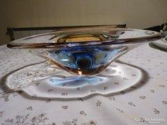 Modern jugoszláv kristály üvegtál (23)