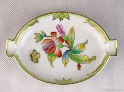 0K784 Viktória mintás Herendi porcelán hamutál