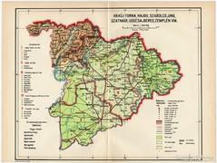 Abaúj - Torna, Hajdú, Szabolcs és Ung vármegye térkép 1935