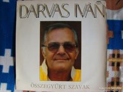 Darvas Iván:Összegyűrt szavak LP bakelit lemez