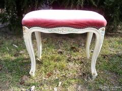 Barokk kisszék,ülőke