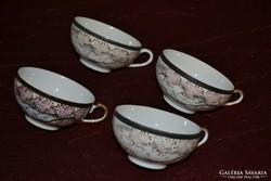 4 db Keleti teás csésze ( DBZ 0071 )