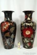 Zsolnay többtűzi eozin mázas váza pár