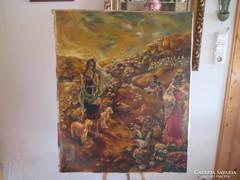 Molnár Tamás pécsi festő keleti témájú