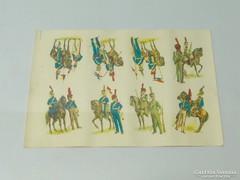 0K919 Varsói hercegség lovassága ruházat matrica