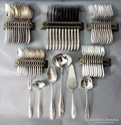 WMF ezüstözött evőeszköz készlet 61 db-os
