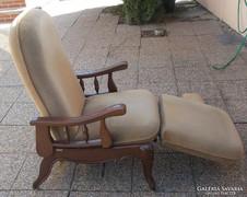 Neobarokk chippendale stílusú relax fotel
