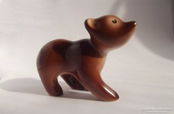 Gránit Kispest mackóka - medve maci mackó retro porcelán