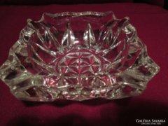 Uv5 Vastag üveg hamutál 10x4 cm