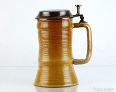 0L178 Sövegjártó kerámia söröskorsó
