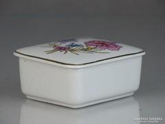 0K950 Régi Hollóházi porcelán bonbonier