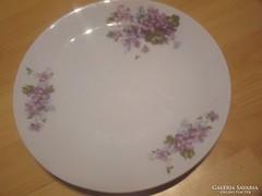 Ibolyás tányér