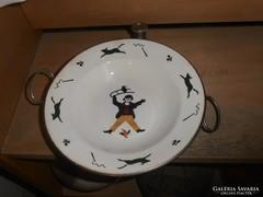 Német gyerek melegentartó tányér