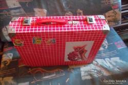 Retro coca-cola fém bőrönd