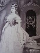 CVD fotó Erzsébet királyné SZISZI KUK BUDA 1867 SZENT KORONA