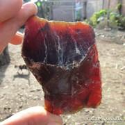 Indonéziából származó (un: szumátra)  borostyán 122gr