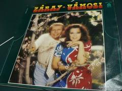 Záray - Vámosi hanglemez LP. ( Homokóra )