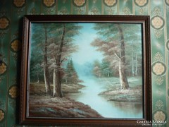 Olaj-vászon festmény...