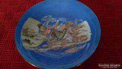 Kínai jelenetes régi teás csésze alj tányér pótlásnak