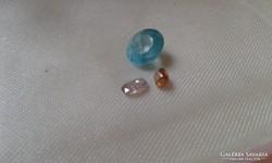 Grandidierit ,-rózsaszín és narancs gyémánt.Ritka drágakövek