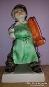 Gyönyörű Herendi Csizmadia figura 18cm, hibátlan állapotban