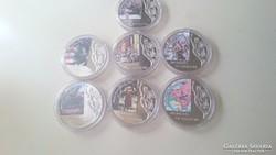 A szabadság pillanatai emlék érmék. 10 $.  2006.