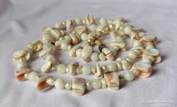 AKCIÓ! - Gyönyörű régi gyöngy, gyöngyház gyöngysor