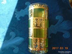 CULVER LTD-USA-aranyrácsos-22K-OPULENS-PRADO pohár-jelzett