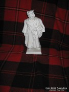 Herendi 32,5 cm fehér betyár figura I.