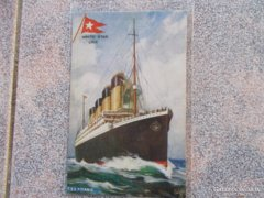 Titanic , 1911. képeslap