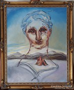 Salvador Dalí: Istenség születik. Reprodukció.