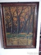 Festmény őszi táj