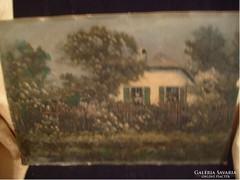 E10  Tordai Székely  Olaj Karton 49 X 34 Csodás Festmény ritkaság