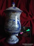 Olasz latin patikaedény fajansz kerámia terrakotta porcelán