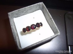 14K arany gyűrű / gránát