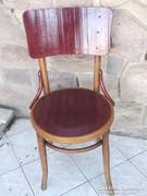 Thonet-Mundus szék felújítva Mahagóni-bükk szín