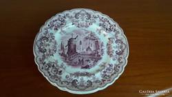 Antik, porcelán tányér J. Allsup London jelzéssel