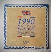 Egyesült Királyság 1990 forgalmi sor BU