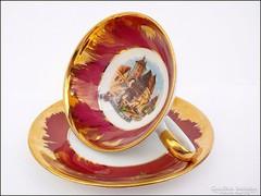 Gyűjteményes Bavaria Lorenz aranyozott csésze
