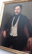 Magyar nemes férfi portré
