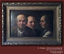 G. Patay: Három tanulmányfej