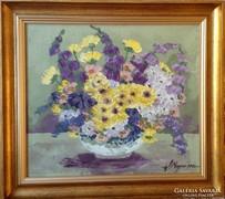Virágcsendélet 2.Megyesi Lukrécia