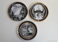 Szász Endre Hollóházi tányér 20 cm